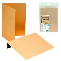 Pack 3 Envelopes + Cartão...