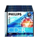 Pack c/10 CD-R Philips...