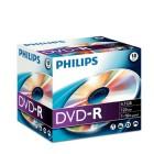 Caixa c/10 DVD-R Philips...