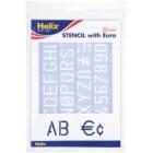 Escantilhão Alfabeto e Euro...