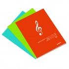 Caderno Agrafado Música...