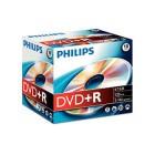 Caixa c/10 DVD+R Philips...