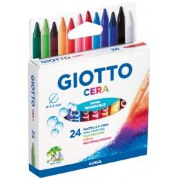 Caixa 24 Lápis de Cera...