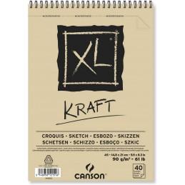 Bloco Canson XL Kraft...