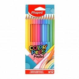 Lápis de Cor Maped Pastel -...