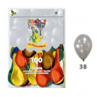 Saco c/100 Balões Lisos...