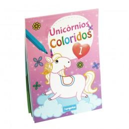 Livro Unicórnios Coloridos - 1