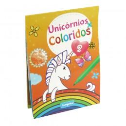 Livro Unicórnios Coloridos - 2