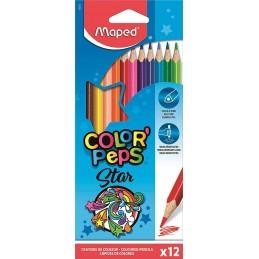 Lápis de Cor Maped Star -...