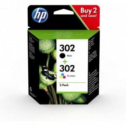Pack Tinteiros HP 302 Preto...