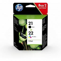 Pack Tinteiros HP 21 Preto...