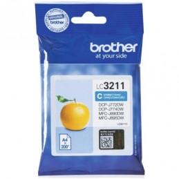 Tinteiro Brother LC3211C Azul
