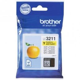 Tinteiro Brother LC3211Y...