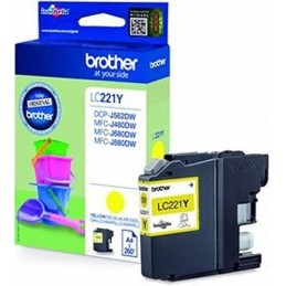 Tinteiro Brother LC221Y...