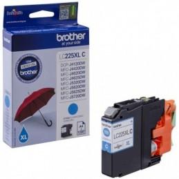 Tinteiro Brother LC225XLC Azul