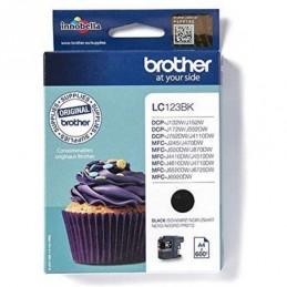 Tinteiro Brother LC123BK Preto